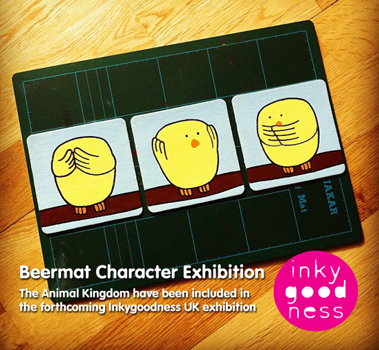 Inkygoodness beermat competition